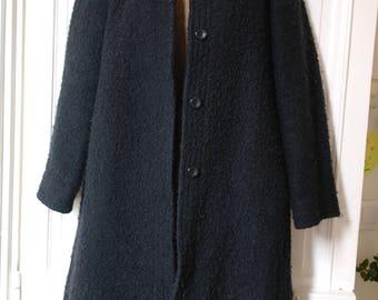 Vintage 70 black coat