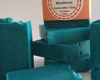 Handcrafted Blueberry Soap