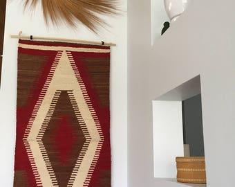Small Southwest Style Weaving - Eye Dazzler Navajo Style