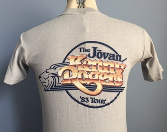 80s Vintage Kenny Rogers 1983 Tour The Jovan T-Shirt - SMALL