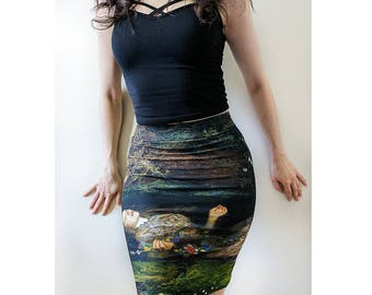 Ophelia Fitted pencil Skirt
