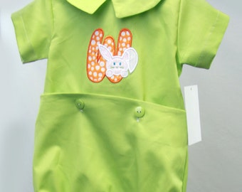 Bunny Easter Romper | Bunny Easter Outfit | Boys Easter | Baby Easter Outfit | Boy Easter Outfit | Toddler Easter Outfit | Boy Easter 291670