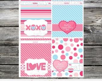 Instant Download, Printable Bag Topper, Valentine Treats, Valentine Bag Toppers, Valentine Tags, Valentine Favors, Valentines Day Treats