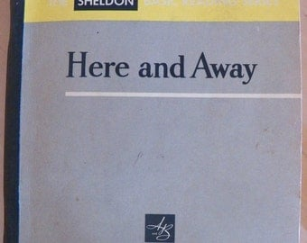 Vintage 1957 Pre-Primer HERE AND AWAY~Sheldon Basic Reading Series Book