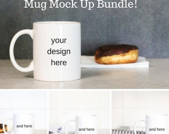 Kitchen Background Stock - Mug Stock Photo - Sublimation Templates - Digital Template Digital Instant Download - Mug Mock Ups - 300 DPI