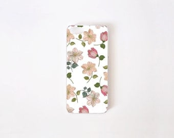 Floral iPhone SE Case - Floral iPhone 5 Case - Flowers Print iPhone 5s Case - Floral iPhone Case - Accessories for iPhone 5s