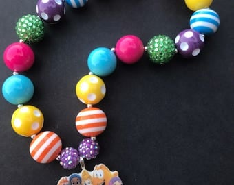 Bubble Guppies Chunky Necklace