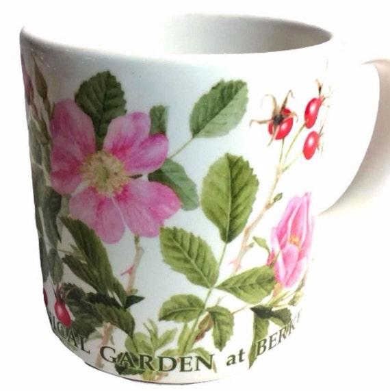 Jumbo Coffee Mug Wild Roses Botanical Gardens University of California at Berkeley Gift