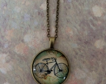 Bike Necklace - Bike Jewelry - Bike Gift - Bicycle - Bicycle Gift - Bicycle Jewelry - Bicycle Necklace - Outdoorsman Gift - Cycling Gifts