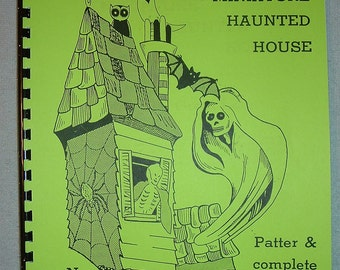 The Great Leon Miniature HAUNTED HOUSE Illusion Plans Magic Book
