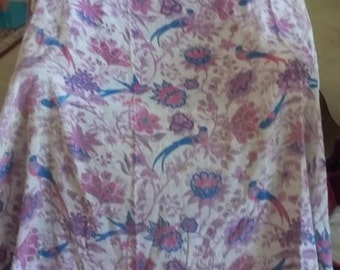 1960s vintage Purple paisley hippie bed spread