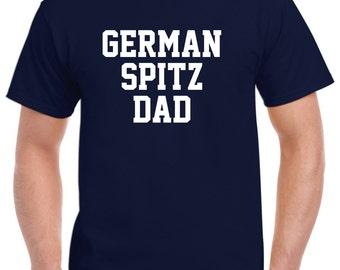 German Spitz Dad Shirt Tshirt Gift