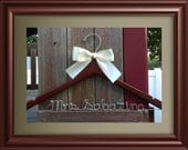Personalized Wedding Hanger / Brides Hanger/SHIPS FROM USA