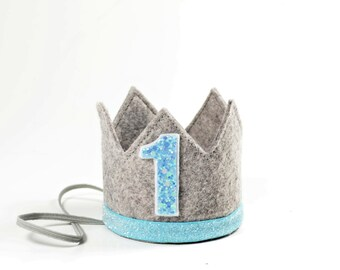 First Birthday Boy Crown || First Birthday Crown Boy || Boy First Birthday Crown Headband || Boy Birthday Outfit