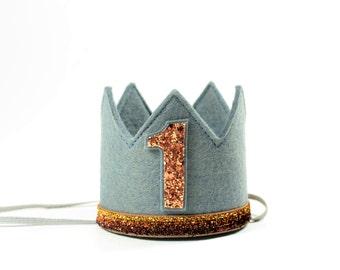 Birthday Crown Boy || Boy Birthday Crown || Boy Half Birthday ||First Birthday Outfit Boy || Boy Birthday Decoration