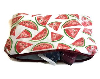 Vanity case - watermelon pattern
