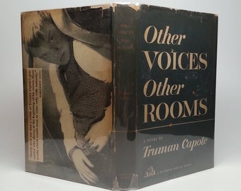 First Edition Other Voices Other Rooms by Truman Capote - Random House, 1948 Hardcover Book with Original Dust Jacket