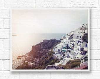 Travel photography, Santorini photography, Greece print, landscape prints, Greece photography, Santorini print, Greek islands, Mediterranean