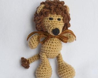 Crocheted Lion - Roar