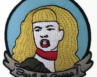 Cry-Baby Wanda Woodward Embroidered Patch