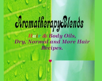 Hair & Body Oil, Dry Recipe, for flaky scalp, dry, brittle, over processed and/or chemically treated hair.     1oz size