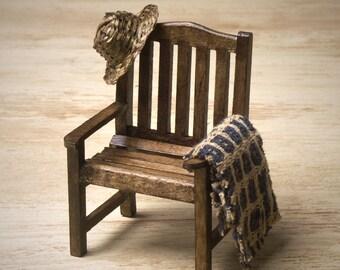 Miniature Garden Chair for Your Dollhouse