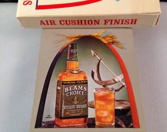 "Jim Beam WHISKEY ""Beam's Choice"" Advertising Playing Cards VINTAGE"