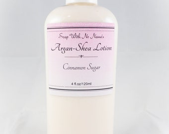 Argan-Shea Lotion - Cinnamon Sugar - 4oz