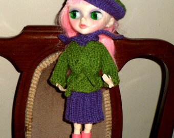BLYTHE DOLLS CLOTHES. 5 piece outfit.