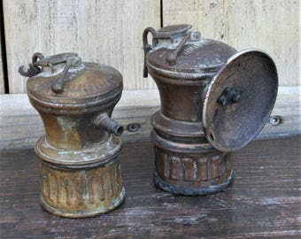 Carbide Miner Lamp Etsy