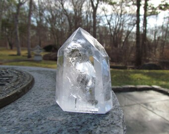 Clear Quartz Crystal Obelisk - Natural Quartz Point - Quartz Tower