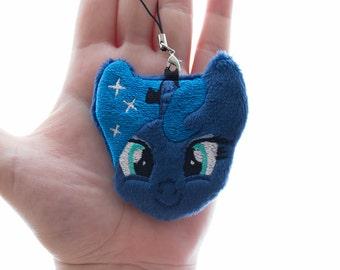Princess Luna Plush Charm Keychain