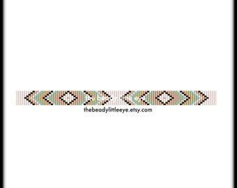 Bead Loom Patterns - Loom Tutorial - Beading Pattern - Loom Beading Pattern - Bracelet Tutorial - Loom Bracelet Pattern - BOHO BAND 2