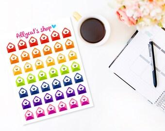 Envelope Planner Stickers - Planner Stickers