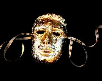 Wearable Gilded Hero Mask