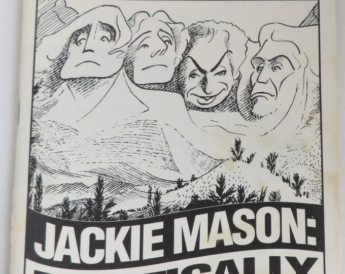 "Broadway Playbill Jackie Mason ""Politically Incorrect"", John Golden Theatre, 1994"