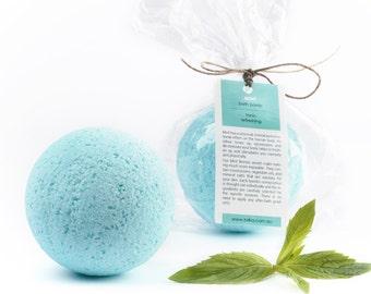 Mint Bath Bomb - Bath Bomb - Vegan - Natural Cosmetics - Bath