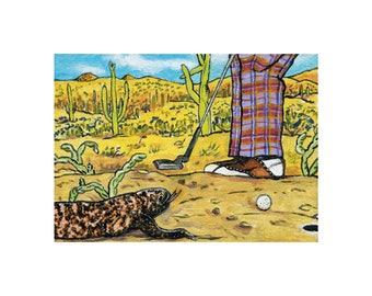 Golf Fine Arts Print