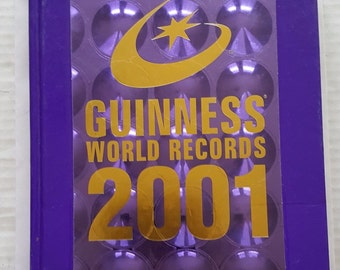 Guinness World Records Hardcover Book - Great Condition