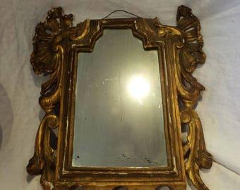 Italian Mirror, Antique Very Old Mirror from Venice