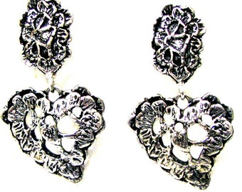 CHRISTIAN LACROIX, earrings dangling vintage