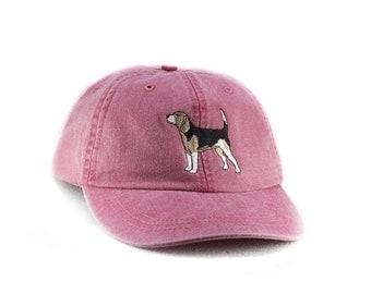 Beagle embroidered cap, baseball hat, dog lover gift, pet mom cap, dad hat, mom, gift for pet lover, dog agility, dog lover hat