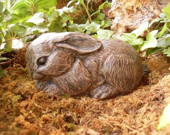 Attractive Rabbit Statue, Bunny Garden Statue, Outdoor Woodland Rabbit, Rabbit  Memorial Statue, Hare