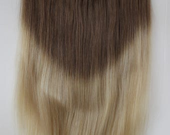 "20"" NEW!!! Ombre Miracle-HALO wire 100% Remy human hair extensions. 8/24 ombre"