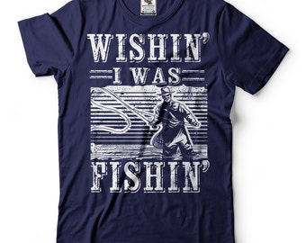 Fishing T-Shirt Gift For Fisherman Funny Fishing Shirt