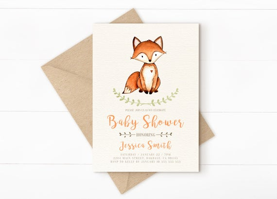 woodland baby shower invitation woodland baby shower fall baby