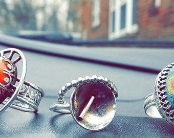 Sterling Silver Rings