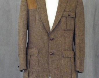 tweed hunting jacket – Etsy