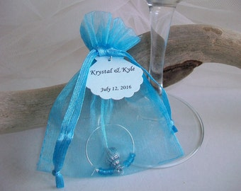 Beach Themed Seashell Gift Bag Wedding Favor Seashell Party