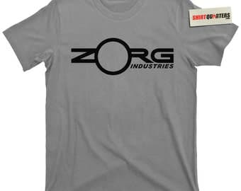 Zorg Industries the Fifth 5th Element Gary Oldman Bruce Willis Chris Tucker Korben Dallas Ruby Rhod Total Recall sci fi movie tee t shirt